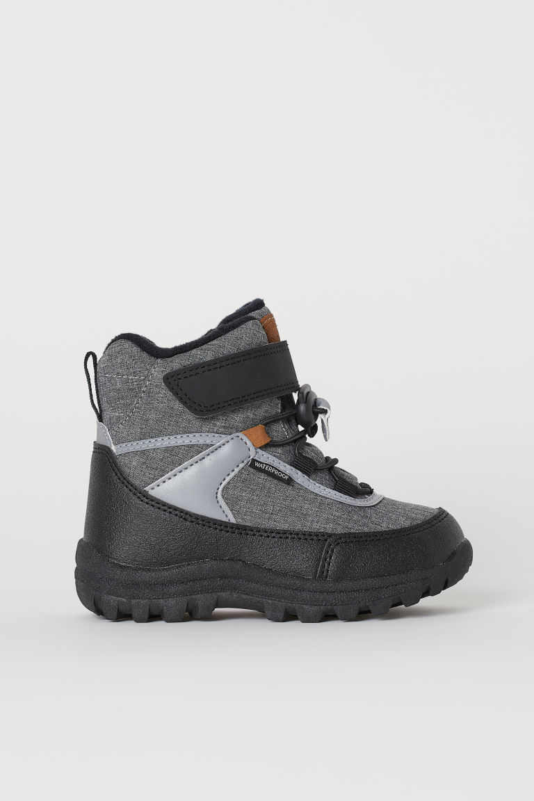 Waterproof boots - Grey marl - Kids | H&M