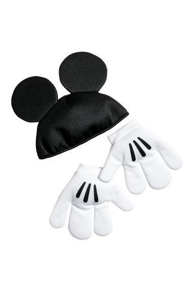 Fancy dress set - Black/Mickey Mouse - Kids | H&M