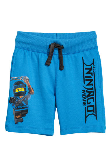 Sweatshirt shorts - Blue/Lego - Kids | H&M