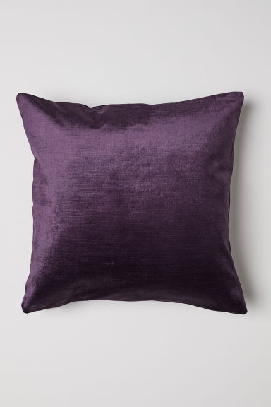 Velvet Cushion Cover - Purple - Home All | H&M US