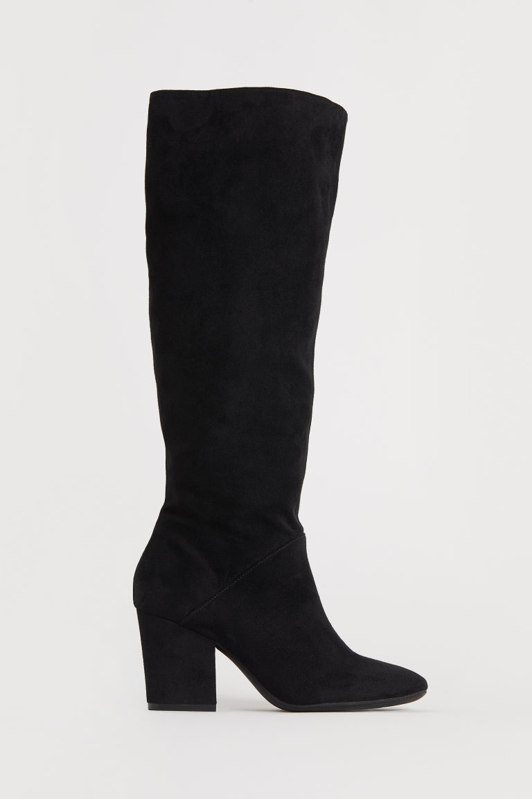 Knee-high boots - Black - Ladies | H&M CN