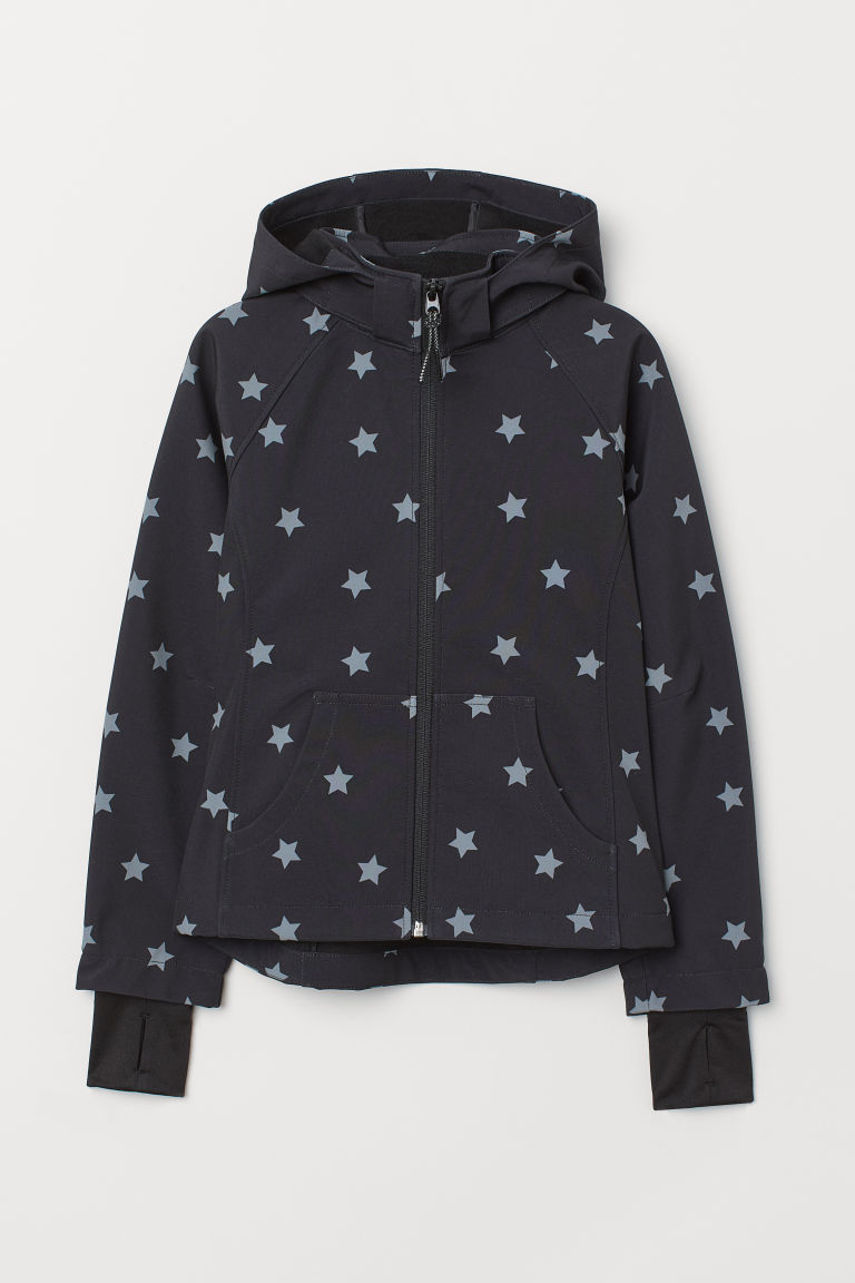 Giacca softshell - Nero/stelle -  | H&M IT