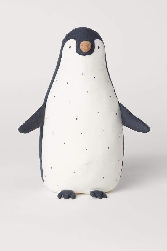 Peluche - Gris foncé/pingouin - Home All   H&M FR 1