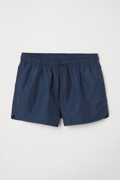 Short swim shorts - Dark blue - Men | H&M CN