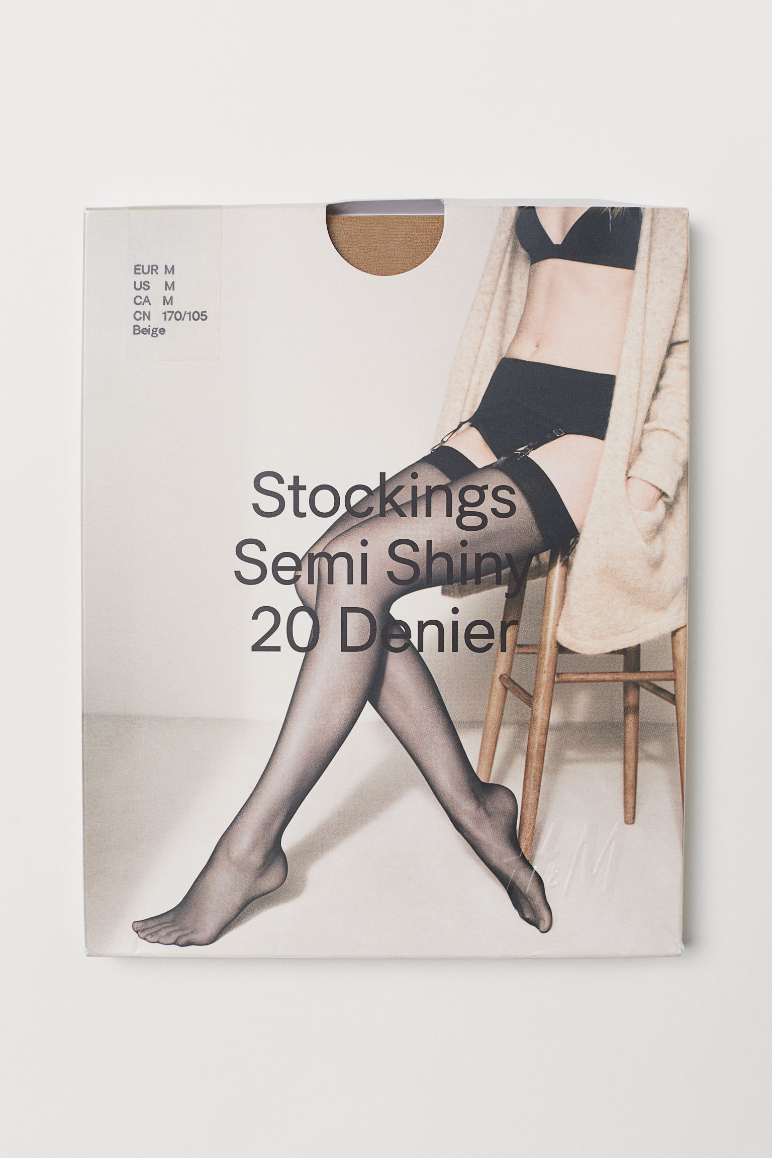 abc4d13fde8 20 denier nylon stockings - Black - Ladies