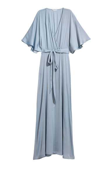 Long dress - Light blue -  | H&M