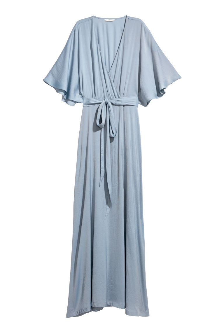 Long dress - Light blue - Ladies | H&M
