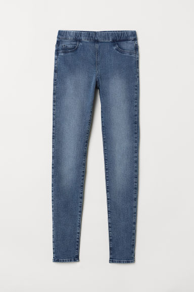 Superstretch treggings - Denim blue - Ladies | H&M CN