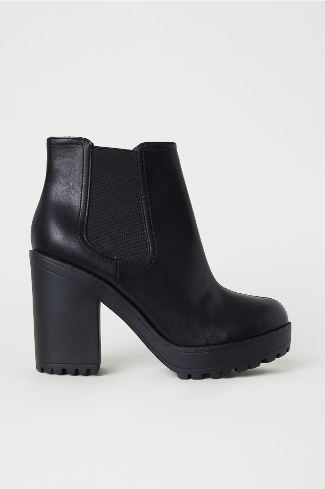 4325c3afcc3f Ankle boots - Black - Ladies