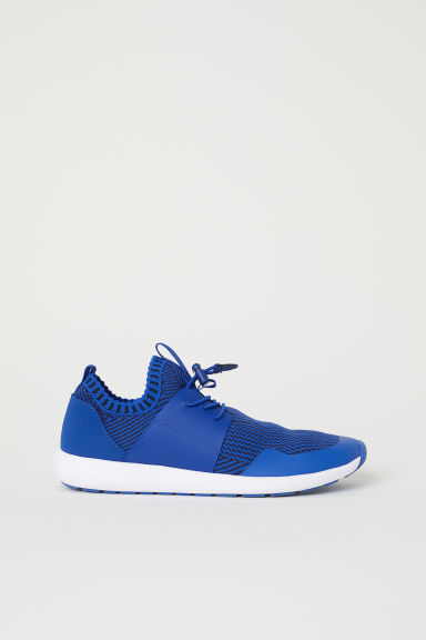 Fully-fashioned trainers - Cornflower blue - Kids | H&M