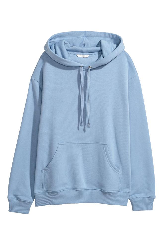 0ba249440091 Hooded Sweatshirt - Light blue - Ladies   H&M ...