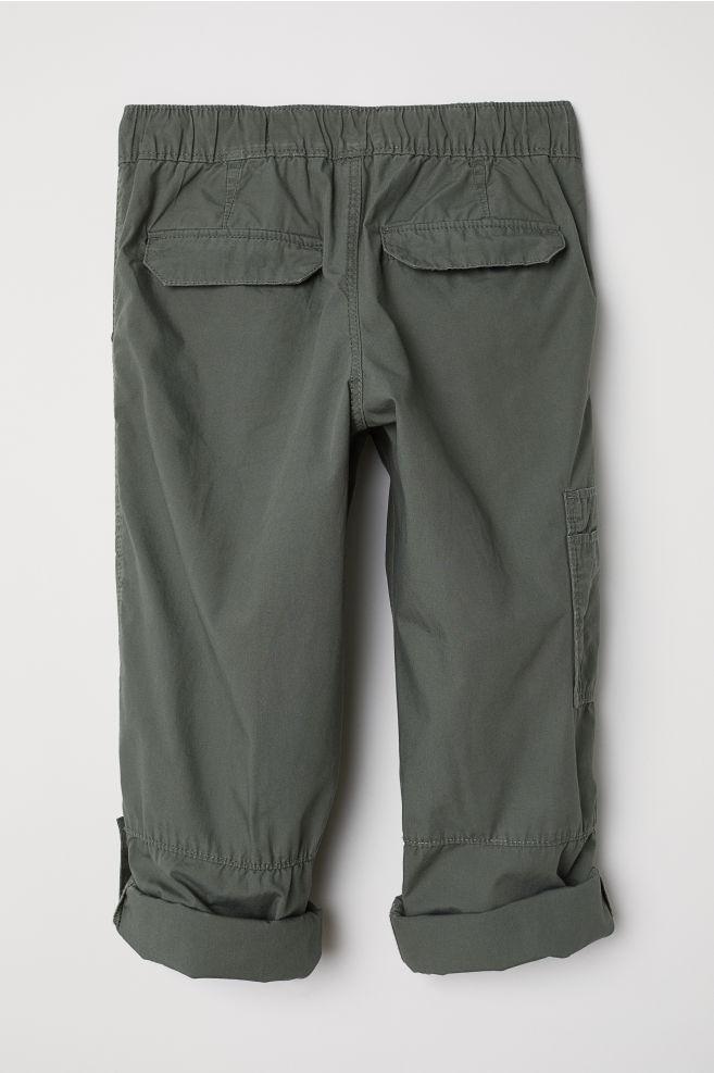 e7ea8c466c1d ... Cargo Pants - Khaki green - Kids