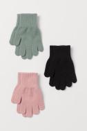 3-pack gloves