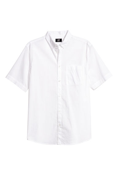 Camicia Regular fit - Bianco - UOMO | H&M IT