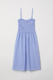 Dress with smocking