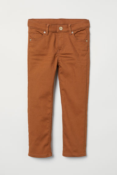 Twill trousers - Light brown - Kids | H&M CN