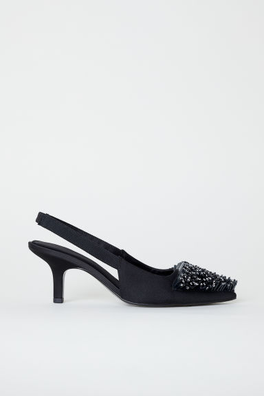 Slingbacks - Black - Ladies | H&M IN