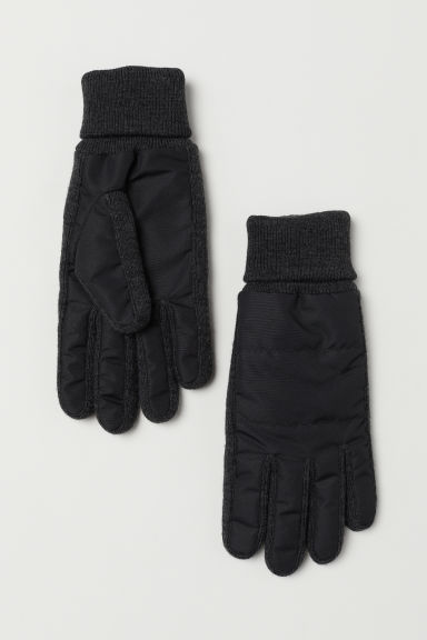 Gloves - Dark grey marl - Men | H&M CN