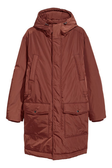 Padded parka - Rust - Men | H&M
