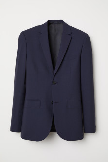 Wool jacket Slim Fit