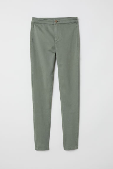 Treggings - Khaki green - Kids | H&M