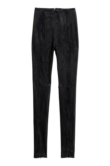 High-waisted trousers - Black - Ladies | H&M CN