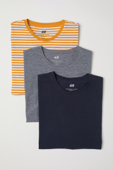 T-shirts Slim fit, pack de 3