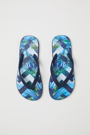 Flip-flops - Dark blue - Kids | H&M CN
