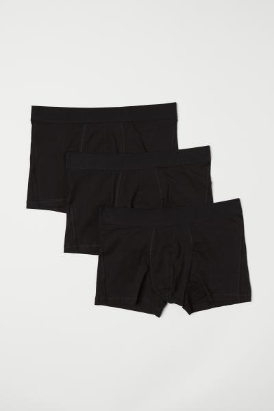 H&M - 3-pack short trunks - 4