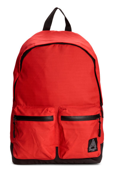 Backpack - Red/Black -  | H&M IE