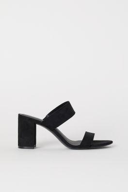 Block-heeled sandals d31e9d66278