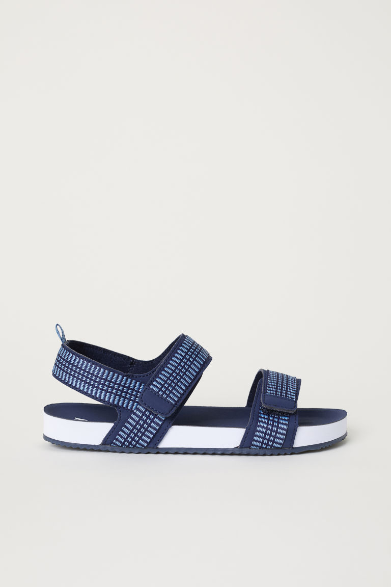Sandals - Dark blue/Blue - Kids | H&M