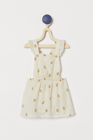 Cotton Overall Dress