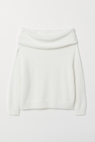 H&M - H&M+ Jersey hombro descubierto - 5