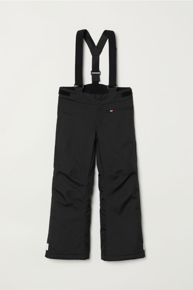 8b721922f Outdoor trousers with braces - Black - Kids