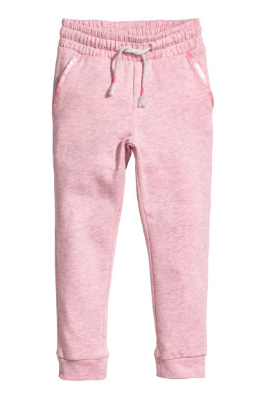 Joggers - Light pink marl -  | H&M CN