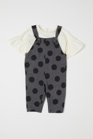 Top and Bib Overalls