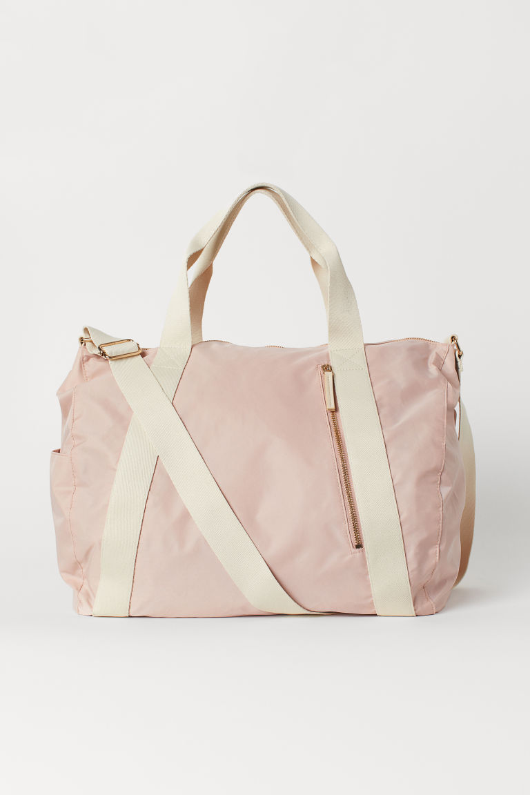 Sac week-end - Rose poudré - FEMME | H&M BE