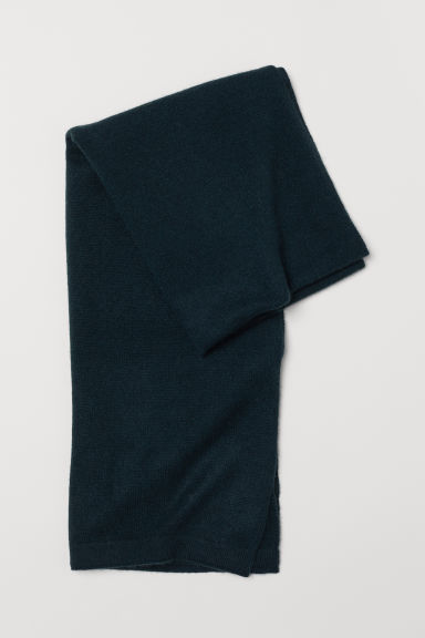 Cashmere Scarf - Dark green - Ladies | H&M US