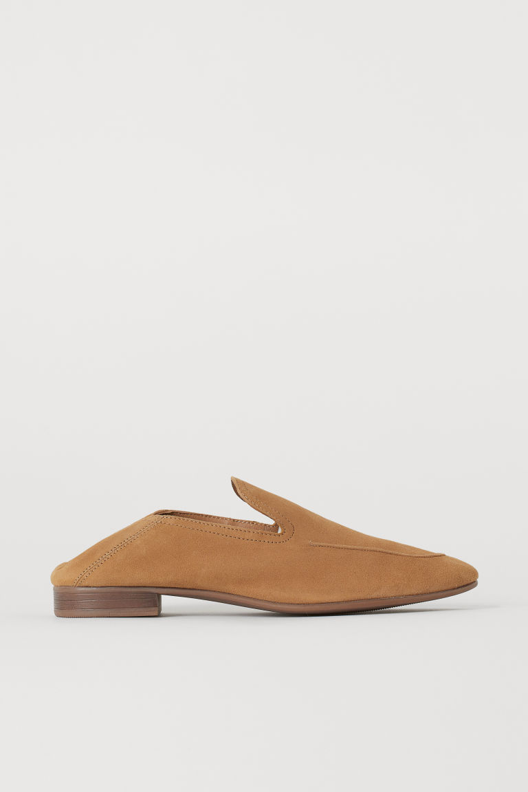 Suede Loafers - Beige - Ladies | H&M US