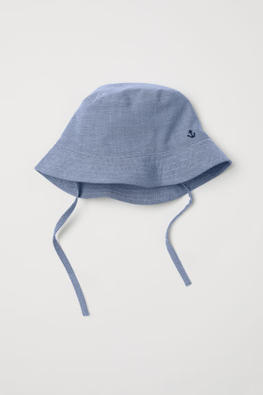 Cotton sun hat - Light blue -  | H&M
