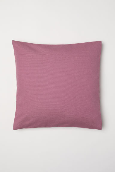 Canvas Cushion Cover - Deep pink - Home All | H&M CA