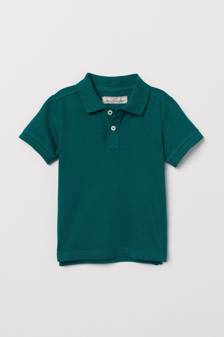 Polo - Verde scuro - BAMBINO | H&M IT