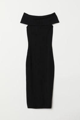 c52489c6853 Платье с открытыми плечами