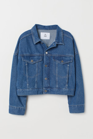 Kort denim jack