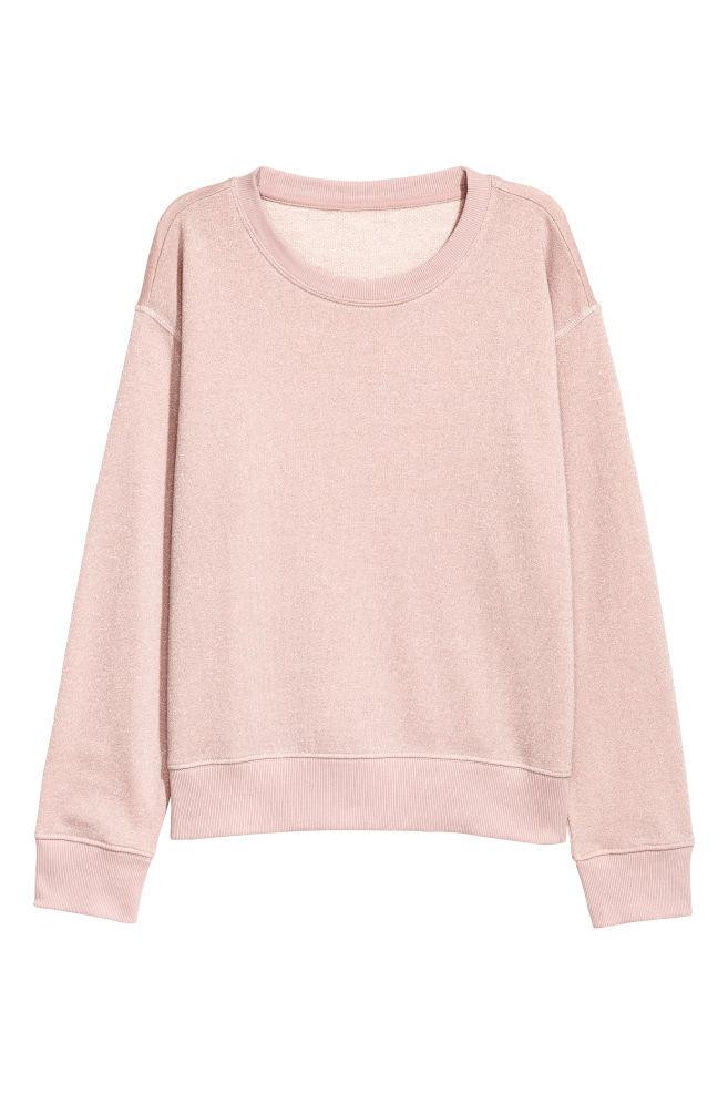 Beige Trui Met Glitters.Sweater Met Glitters Roze Glitters Dames H M Be