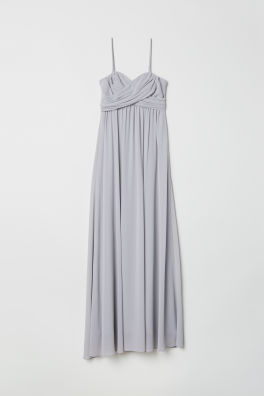 a19a35c33a Długa sukienka bandeau