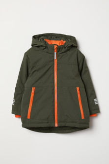 Padded outdoor jacket