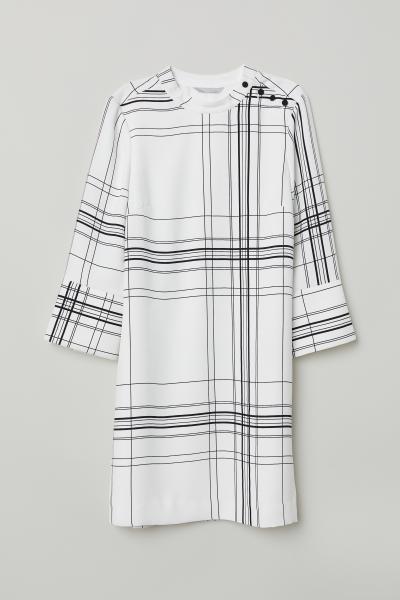 H&M - Robe à col droit - 1