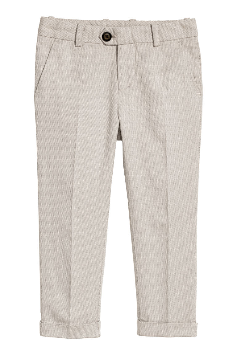 Cotton suit trousers - Mole - Kids | H&M CN